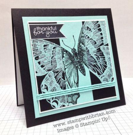 Swallowtail, Banner Greetings, Stampin' Up!, Brian King, FMS124: