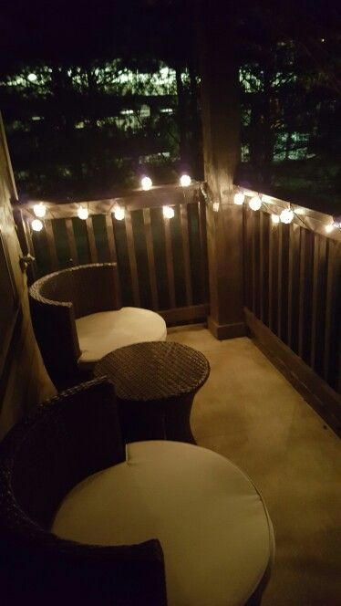 great look for an apartment balcony here s a tip pinterest lighting balconies and plants on christmas balcony decorations apartment patio id=76409