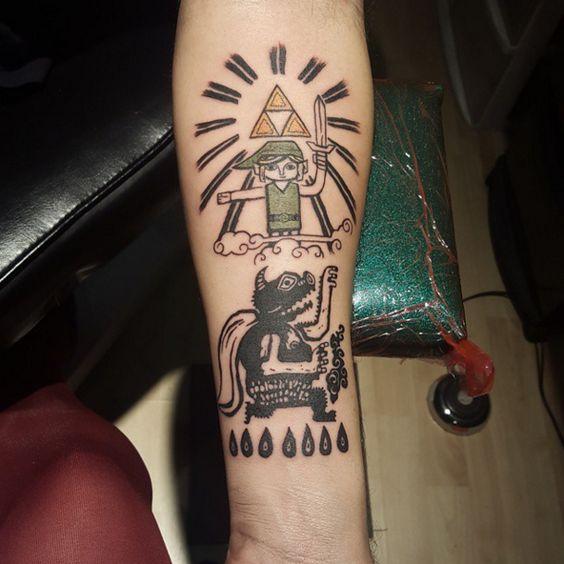 Tatuagem Zelda: