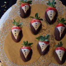 Tuxedo Strawberries   Hollywood Party - PartySavvy - SavvyMom.ca: