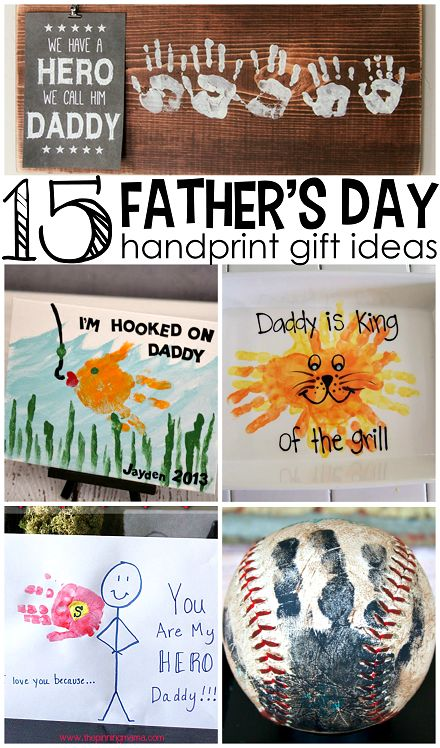 Fathers Day Handprint Gift Ideas From Kids Creative