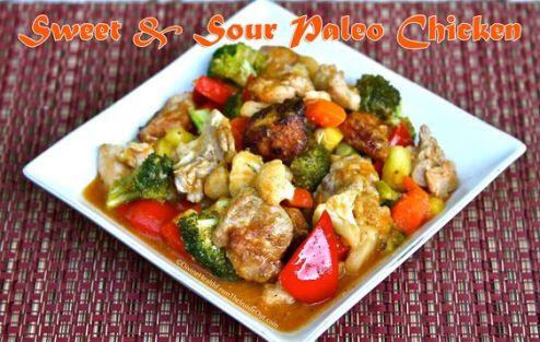 Sweet & Sour Paleo Chicken | Divine Health: