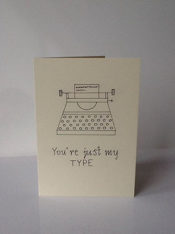 An obsolete yet still strangely popular writing instrument. | 30 Punny Valentines For Everyone You Love: