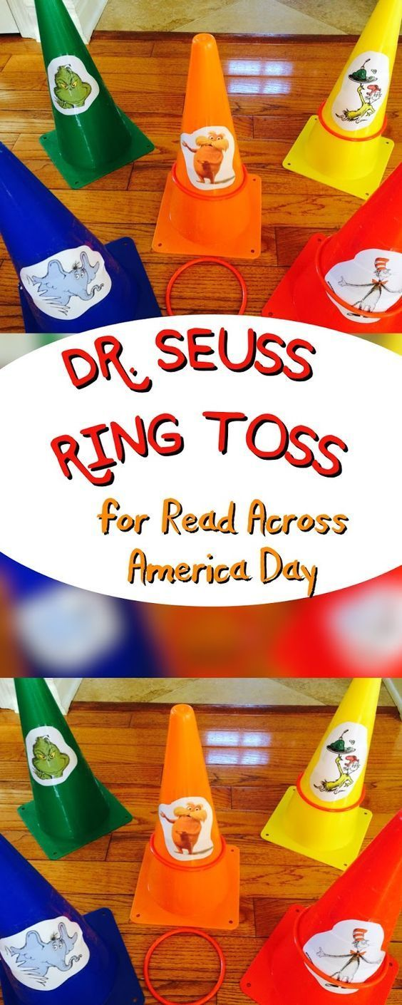 The Ultimate Pinterest Party, Week 136 The Jersey Momma: Dr. Seuss Party Games for Read Across America: Easy Ring Toss: