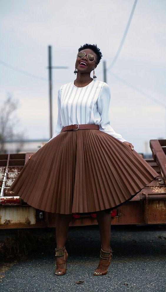 Skirt on fleek: