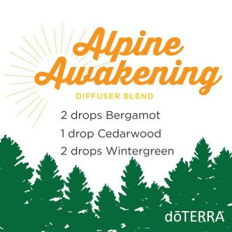 A morning in the mountains smells so fresh and bright you just want to drink in the scent all day long! Try this diffuser blend for an awakening and fulfilling scent we just can't get enough of.: