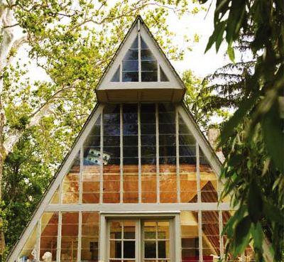 THE A FRAME HOUSE: