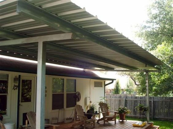 Popular, Patio ideas and Covered patios on Pinterest on Patio Cover Ideas On A Budget id=11992