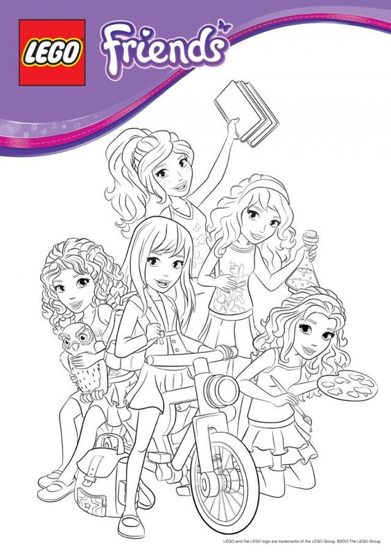 coloring pages of lego friends  google search  lego