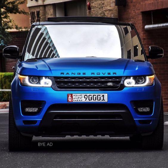 Matte Blue Range Rover Land Rover Pinterest Range