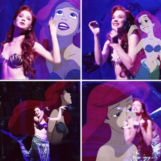 Sierra Boggess as Ariel: Role model officially decided ...