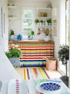 Cottage kitchen cabinets: