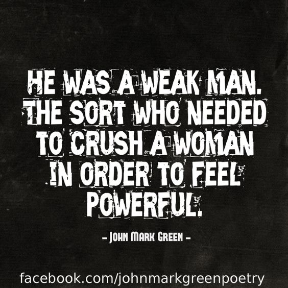 Two men come to mind.and im double crushed More: