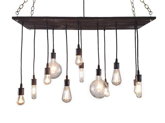 Industrial, Modern And Industrial Chandelier On Pinterest