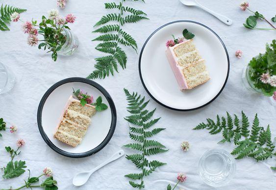 Call me cupcake: Vanilla bean cake: