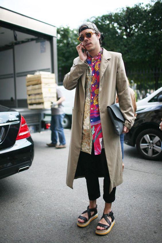 Mens Paris Fashion Week street style [Photo by Kuba Dabrowski]: