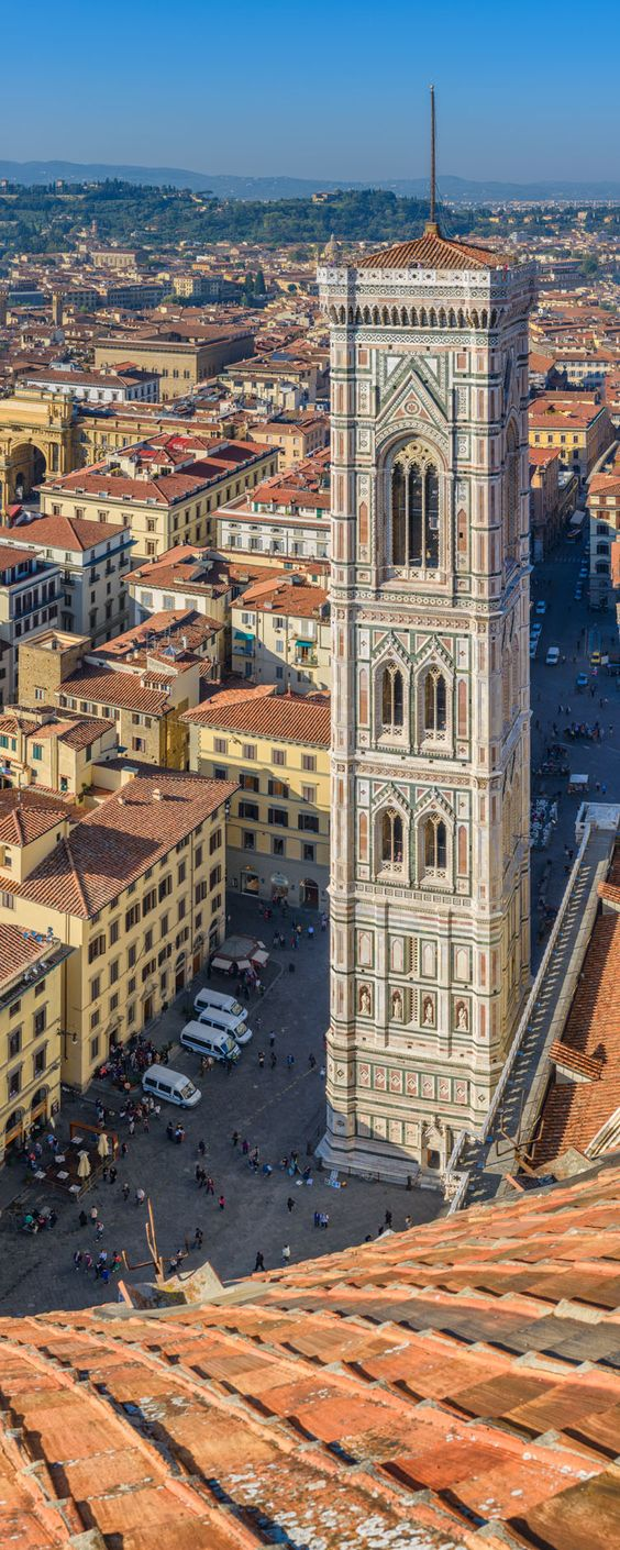 Giotto's Bell Tower - Florence, Tuscany, Italy: