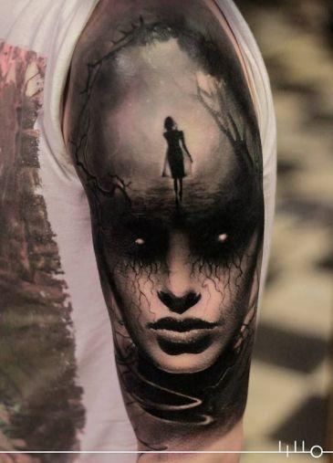 Tattoos.com | ARTIST SPOTLIGHT: RAINER LILLO and his flawless horror-realism tattoo art. | Page 2