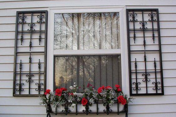 Wrought #iron #shutters