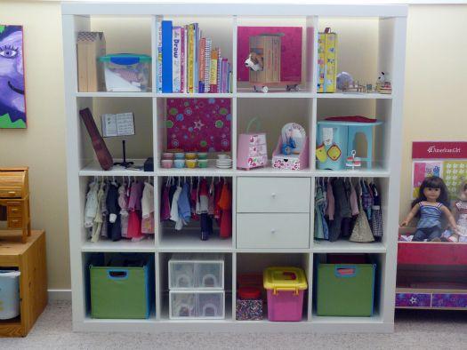 American Girl Doll Storage Use Closetmaid Cubbies Instead