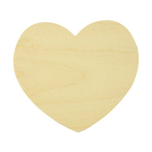 Wooden heart for crafts