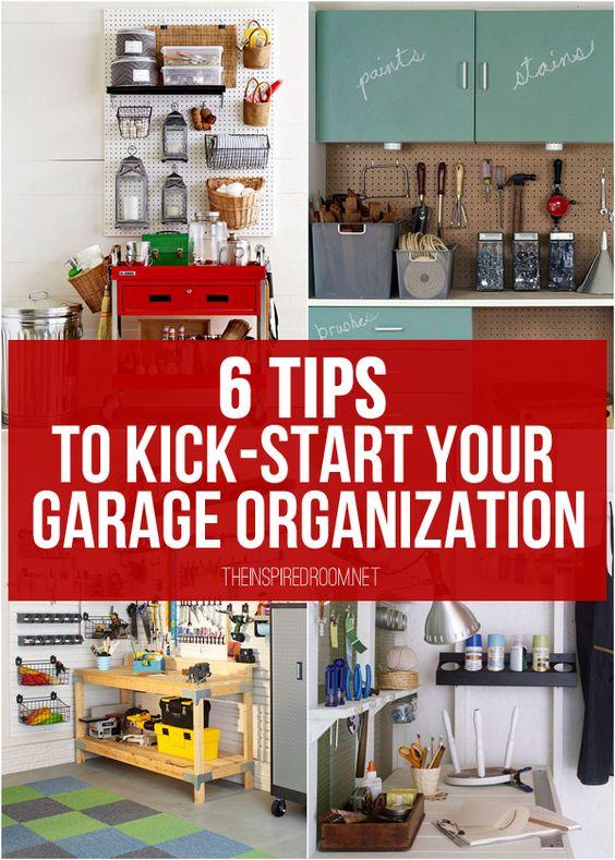 garage organization garage organization tips and garage on best garage organization and storage hacks ideas start for organizing your garage id=78998