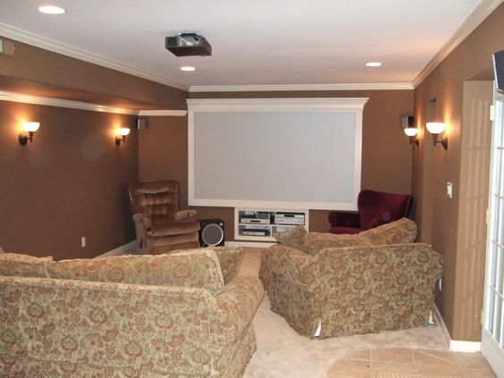 basement color schemes pinterest moldings finished on basement color palette ideas id=28578