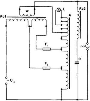 Thrifty Voltage Regulator   wiring and diagram