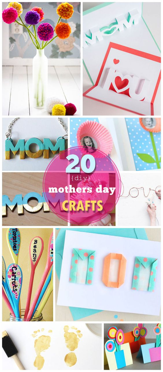 Click Pic for 20 DIY Mothers Day Craft Ideas for Kids to Make | Homemade Mothers Day Crafts for Toddlers to Make:
