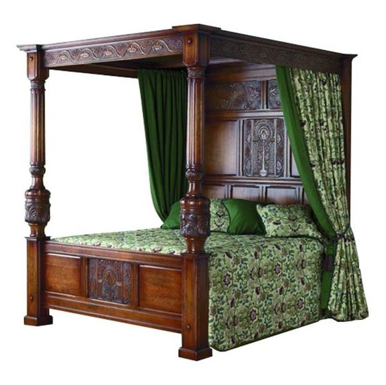 How To Make A Four Poster Bed With Curtains