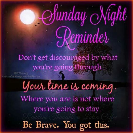 Night and Sunday night on Pinterest