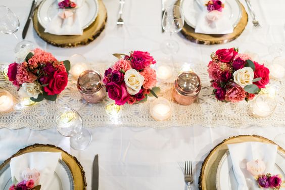 Beautiful Valentine\'s Day Table Setting Ideas - jane at home