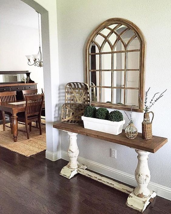 @greyjuniper sure does love #wooddecor, and our Natural Sadie Arch Mirror…: