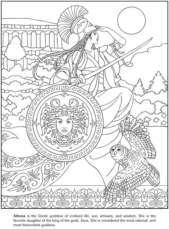 goddess coloring sheets  adult coloring  pinterest