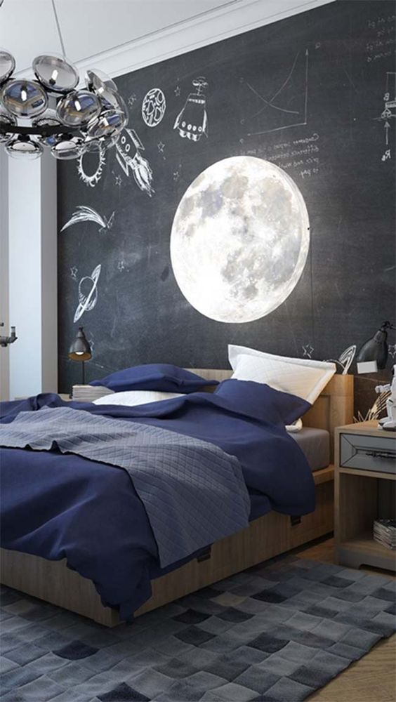 Cosmic bedroom design: