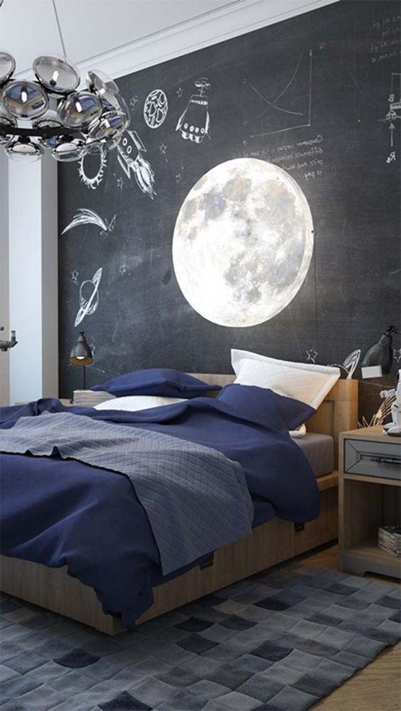 Cosmic bedroom design: