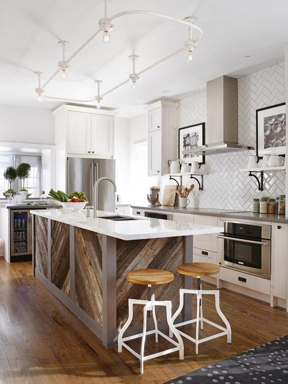 Our 40 Favorite White Kitchens | Kitchen Ideas & Design with Cabinets, Islands, Backsplashes | HGTV:
