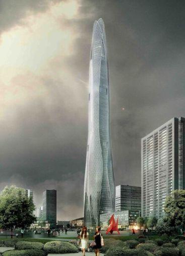 Tianjin Chow Tai Fook Binhai Center