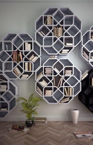 Bookshelves: