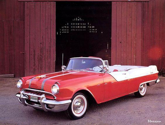 1955 Pontiac Star Chief Convertible Really Cool Schtufff