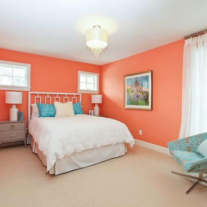 Bedroom Peach Wall Color Design Ideas Pictures Remodel And Decor. Peach Colored Bedroom   Bedroom Style Ideas