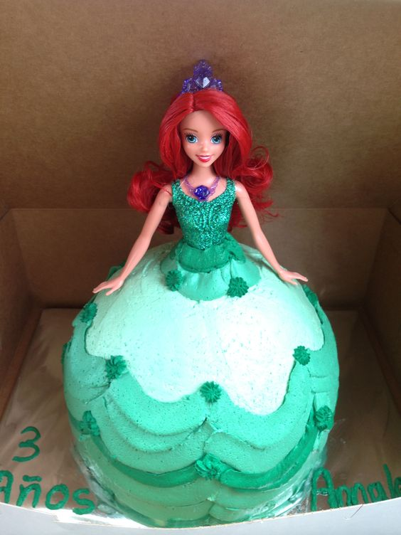 My Little Girl 3 Year Old Little Mermaid Princess Birthday