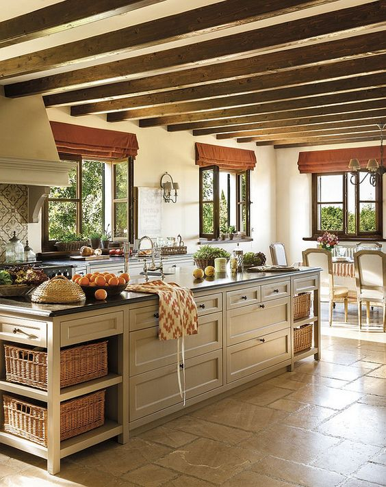 beautiful french kitchen design island and windows french kitchen french country kitchen on kitchen interior french country id=45919