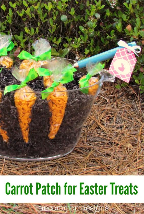 Make your Own Carrot Patch for Easter Treats   Gardens ...