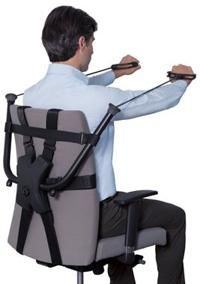 Office Chair Strength Trainer: