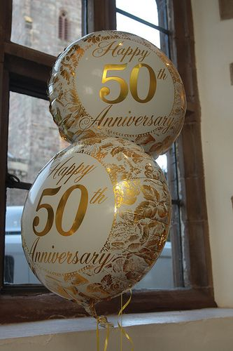 50th Wedding Anniversary Party Ideas - Real Life ...