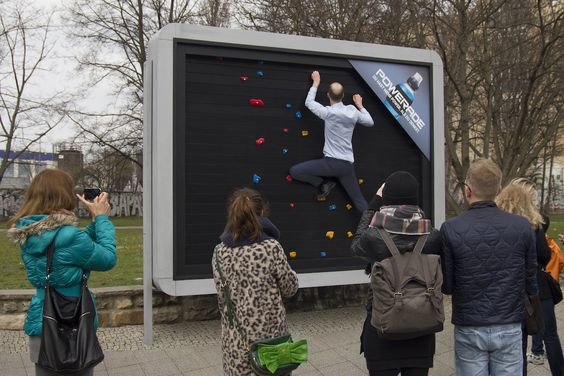 outdoor ads-Powerade Creates Genius Workout Billboards To Help You Break A Sweat:-www.ifiweremarketing.com