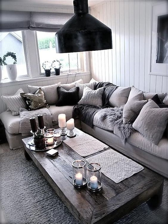 Different shades of gray can add depth to a room. Don't shy away from your favorite colors.:
