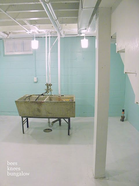 how to paint a cement floor might do this n my laundry on concrete basement wall paint colors id=34617