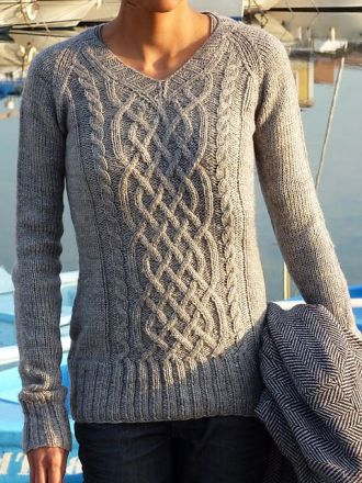 Jess' Birthday Sweater FREE pattern: Go to http://pinterest.com/DUTCHYLADY/share-the-best-free-patterns-to-knit/ for more than 1500 FREE patterns to KNIT: